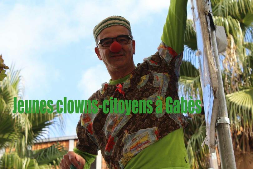 Atelier Clowns-Citoyens à Gabès
